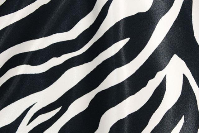 Zebra Satin Runner, 120