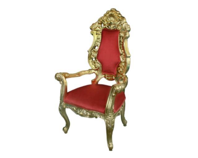 Red/gold Throne Chair