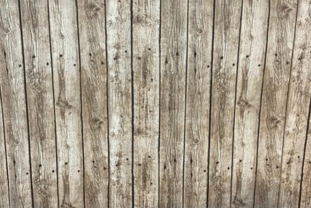 Wood Plank (grey) Print Runner 120