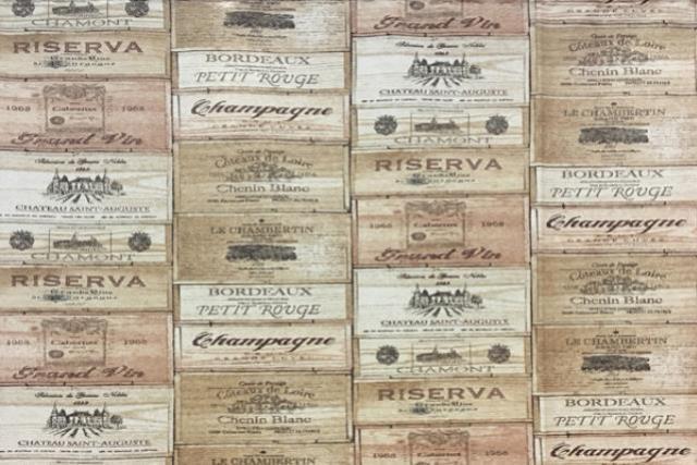 Wine Labels (large) Print Runner 120