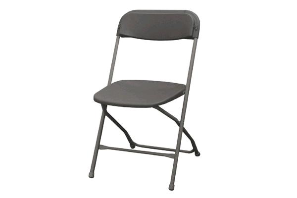 Charcoal Folding Chair