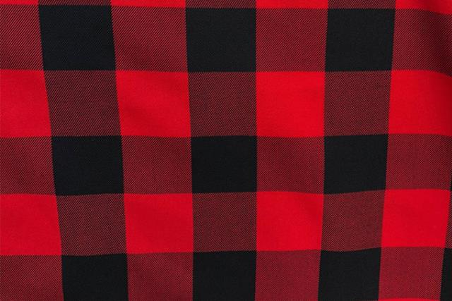 Buffalo Check Red/black Runner, 120