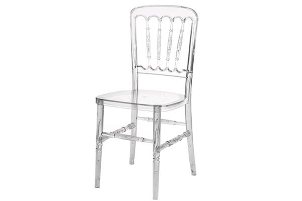 Crystal Clear Chateau Chair