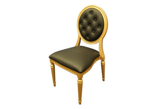 Gold Louis Chair